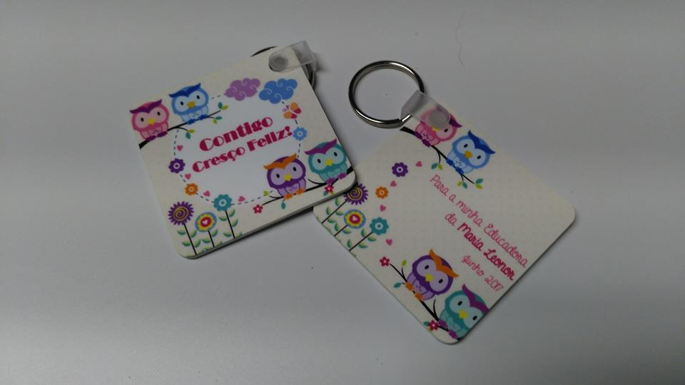 Porta-chaves personalizados